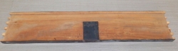 RueA900 Antikes Ulmenholz, Rüster Möbelteil Massivholz 720 x 150 x 25 mm