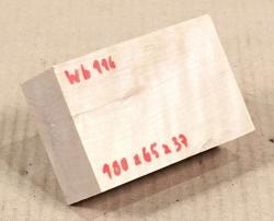 Wb116 Weißbuche 100 x 65 x 37 mm