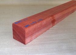 Bl152 Bloodwood Satiné 600 x 50 x 50 mm
