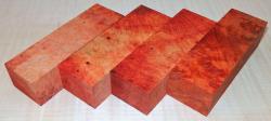 Amboina Maser Griffblock 120 x 40 x 30 mm