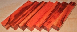 Tigerwood, Goncalo Alves Pen Blank 120 x 20 x 20 mm