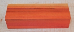 Peroba Rosa, Lachsholz Messergriffblock 120 x 40 x 30 mm