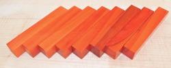 Peroba Rosa, Salmon Wood Pen Blank 120 x 20 x 20 mm