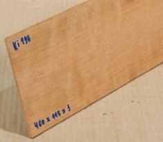Ki190 Kirschbaum, Kirsche Sägefurnier 400 x 115 x 3 mm