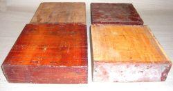 Cv125-5 Paela, Chakte Viga Schalenrohling Block 125 x 125 x 50 mm