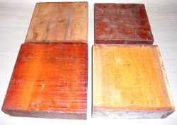 Cv125-8 Paela, Chakte Viga Schalenrohling Block 125 x 125 x 80 mm