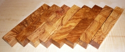 Olive Wood Highly Figured Pen Blank 120 x 20 x 20 mm