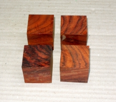 Co075 Cocobolo Ringrohling 35 x 35 x 35 mm