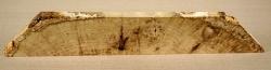Rb102 Black Locust Burl Slab 370 x 85 x 17 mm