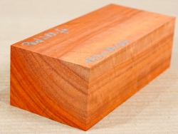 Pad289 Padauk, Coral Wood 175 x 80 x 55 mm