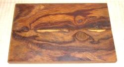 2145 Wüsteneisenholz Maser-Griffschalen 130 x 45 x ca. 9 mm