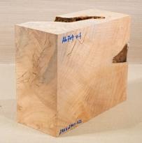 Ah704 Oregon Maple Burl Spalted Block 290 x 240 x 125 mm