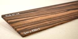 Mak031 Macassar Ebony wood, Smal Board 600 x 135 x 7 mm