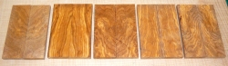 Olive Wood Highly Figured Knife Scales 120 x 40 x 10 mm