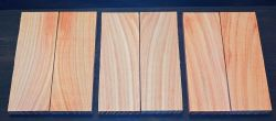 Honey Locust Folder Knife Scales 140 x 40 x 4 mm