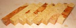Box Elder, Eschenblättriger Ahorn Maser Pen Blank 120 x 20 x 20 mm