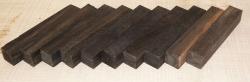 Ebenholz, 10 Stück Pen Blank B-Sortierung 120 x 20 x 20 mm