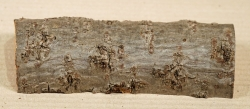 Sd026 Sea-Buckthorn Log Cutoff 165 x 65 x 43 mm