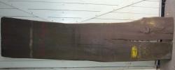 Mo978 Bog Oak Tabletop XL 2550 x 560 x 35 mm