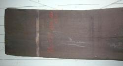 Mo978 Mooreiche Tischplatte XL 2550 x 560 x 35 mm