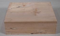 Ah738 Oregon-Ahorn Maser gestockt Block 260 x 215 x 80 mm