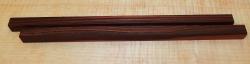 Mak018   Pair of Chop Stick Blanks 240 x 12 x 12 mm