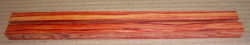 Ro018 Tulipwood, Brazilian, Pair of Chop Stick Blanks 245 x 12 x 12 mm