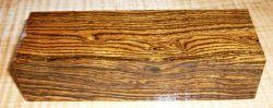Bocote Griffblock 120 x 40 x 30 mm