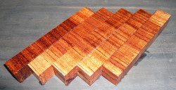 Bubinga Crosscut Pen Blank 120 x 20 x 20 mm
