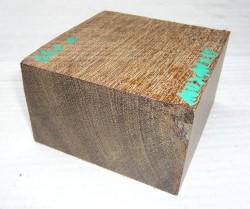 Gh001 Demerara Greenheart 100 x 100 x 65 - 62 mm