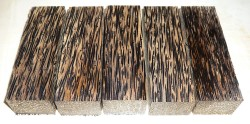 Palmenholz schwarz Messergriffblock 120 x 40 x 30 mm