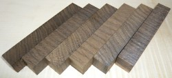 Smoked Oak Cross Cut Pen Blank 120 x 20 x 20 mm