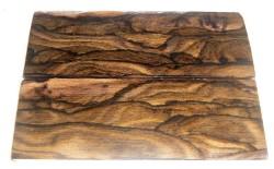 Ziricote Griffschalen 120 x 40 x 10 mm