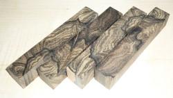 Ziricote Pen Blank Cross Cut 120 x 19 x 19 mm