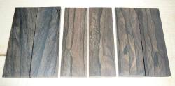 Ziricote Knife Scales 120 x 40 x 10 mm