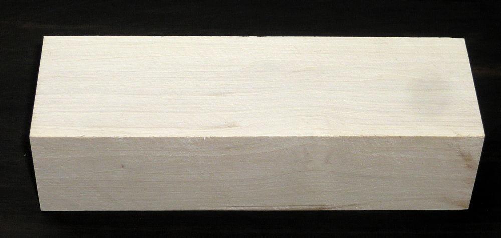 Weißbuche Griffblock 120 x 40 x 30 mm