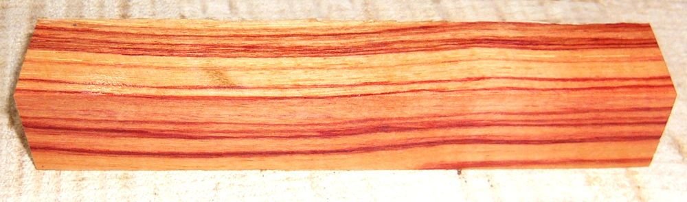 Tulipwood, Brazilian Pen Blank 120 x 20 x 20 mm