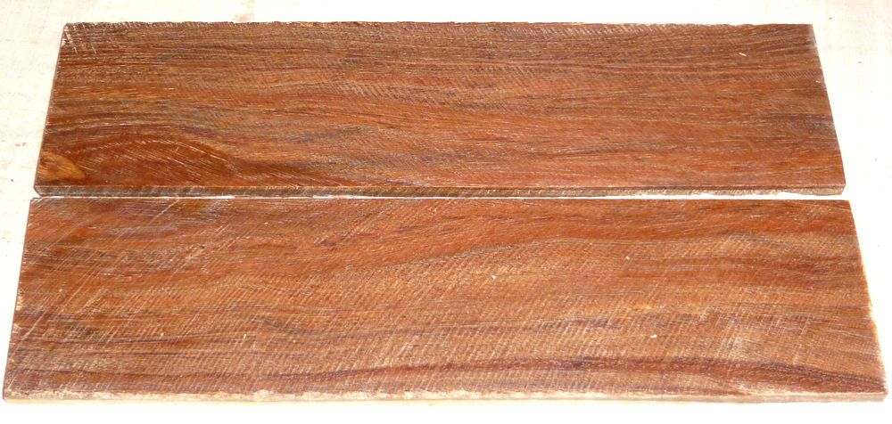 Pockholz Griffschalen 150 x 40 x 4 mm