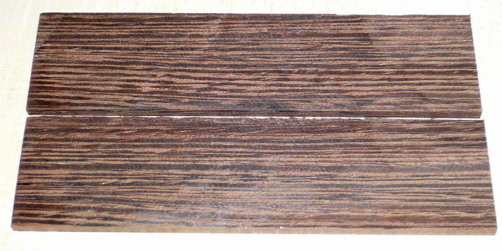 Wenge Rasierer-Griffschalen 140 x 40 x 4 mm