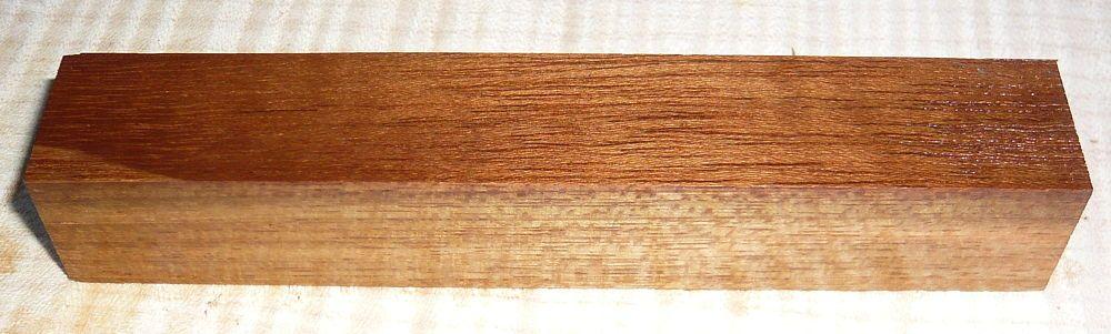 Teakholz Pen Blank  120 x 20 x 20 mm