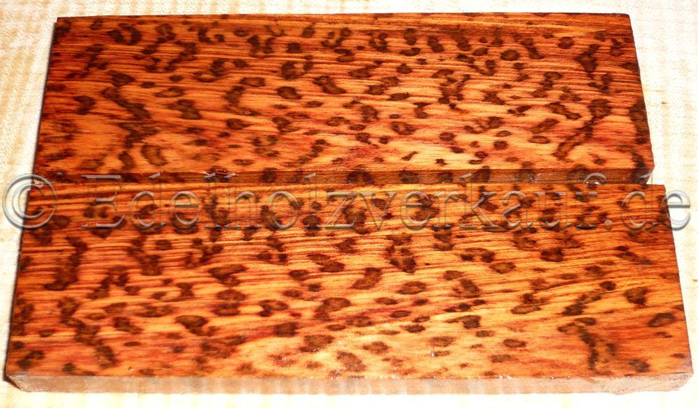 Snakewood Knife Scales 120 x 39 x 10 mm