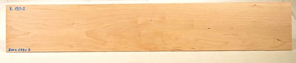 Ki197 Cherry Wood Saw Cut Veneer 800 x 135 x 3 mm