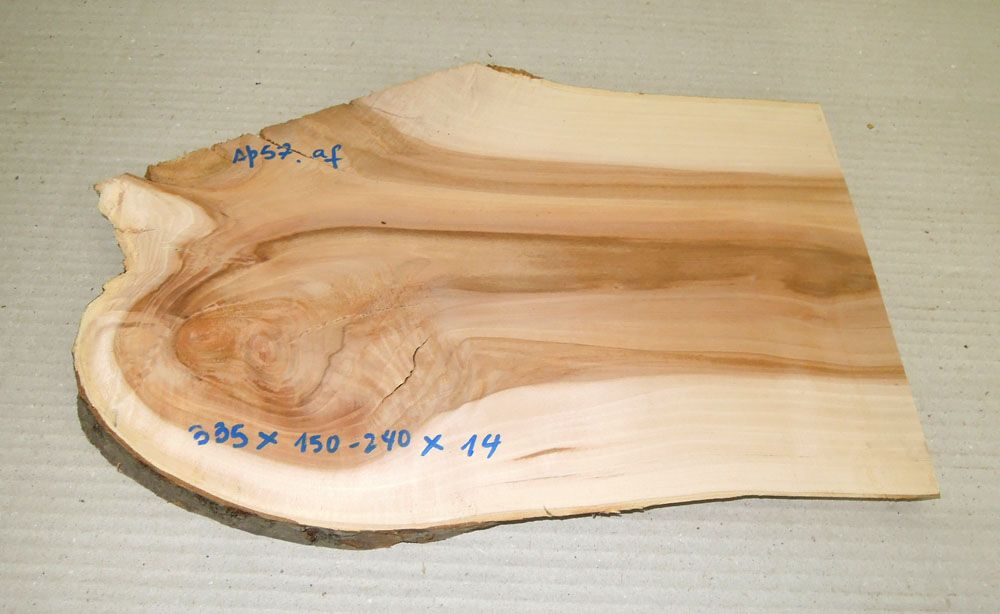 Ap057 Apple Wood 335 x 150 - 240 x 14 mm