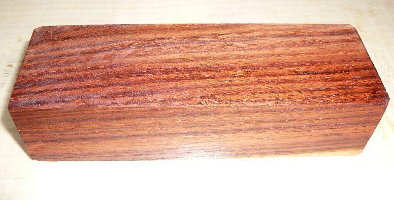 Rosewood, Honduran Knife Block  120 x 40 x 30 mm