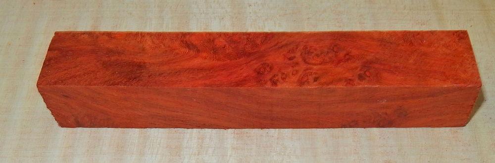 Amboyna, Narra Pen Crosscut Blank 120 x 20 x 20 mm