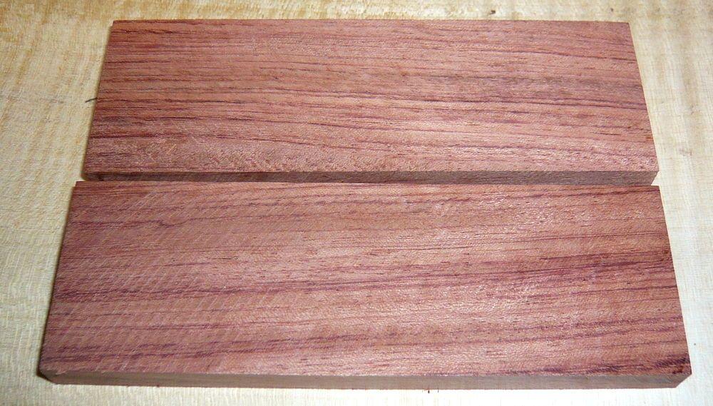 Bubinga, Kevazingo Knife Scales 120 x 40 x 10 mm