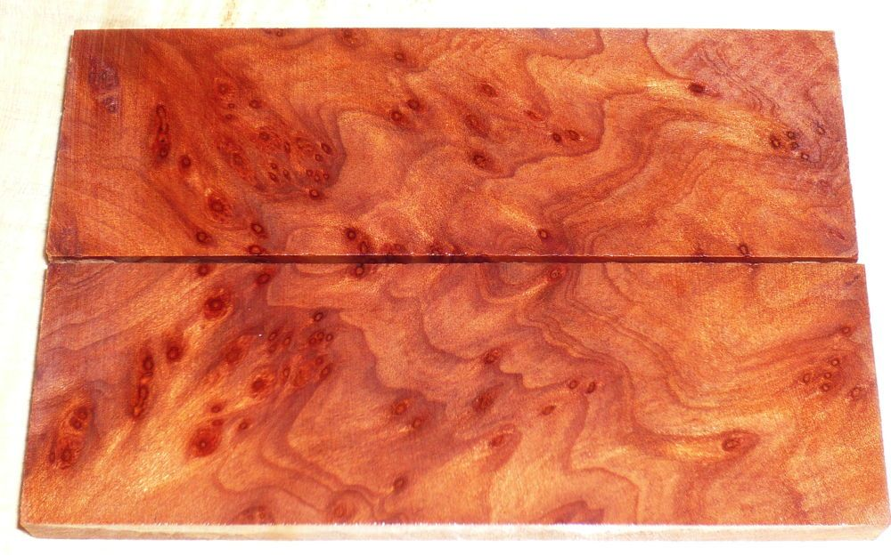 Redwood-Maser, Vavona Griffschalen 120 x 40 x 10 mm