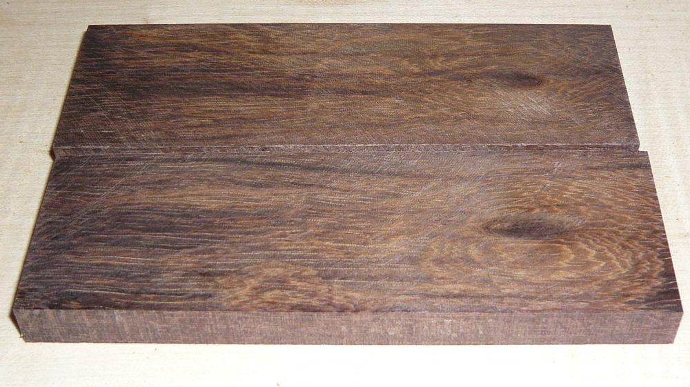 Gombeira, Coraçao de Negro Ironwood Knife Scales 120 x 40 x 10 mm