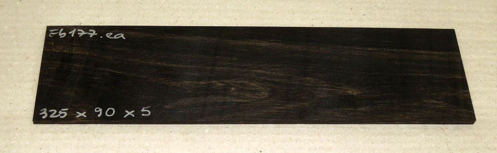 Ebf177 Ebony Saw Cut Veneer 325 x 90 x 5 mm