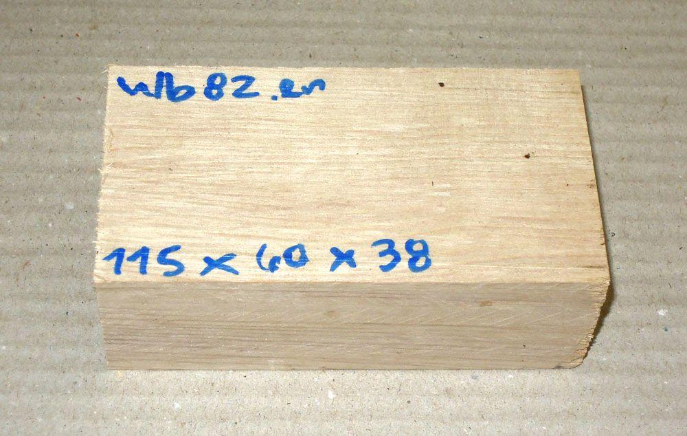 Wb082 Weißbuche  115 x 60 x 38 mm